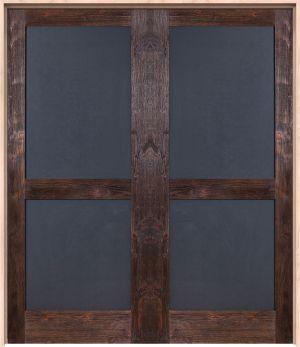 Chalkboard Interior Double Door