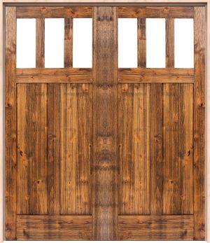 Craftsman Interior Double Door