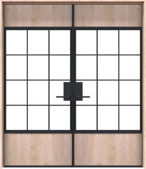 Farm Yard Interior Double Door