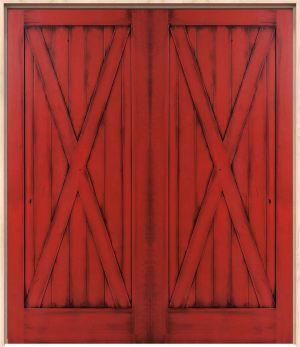 Full X Interior Double Door