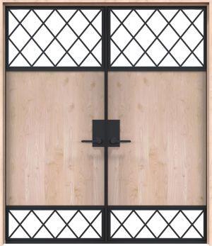 Galley Interior Double Door