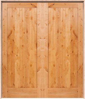Vertical Lewiston Interior Double Door