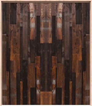 Vertical Rustica Reclaimed Interior Double Door