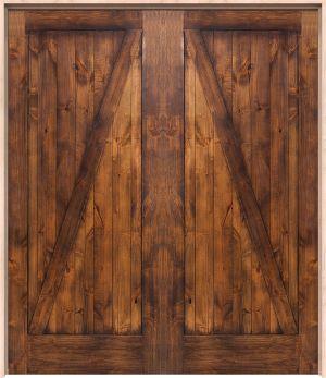 Z Barn Interior Double Door