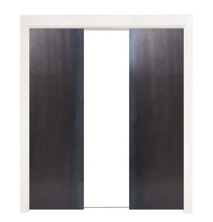 Industry Double Converging Pocket Doors