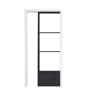Traditional Single Pocket Door