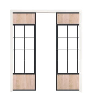 Orchard Double Converging Pocket Doors