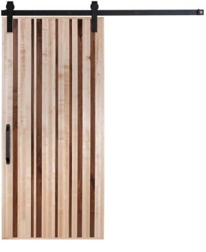 Modern Slab Barn Door
