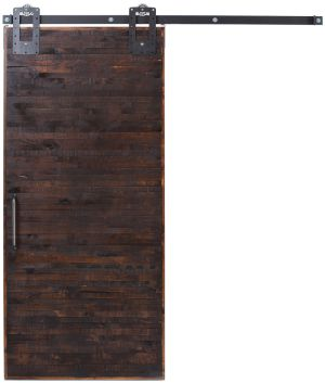 Horizontal Rip Top Barn Door