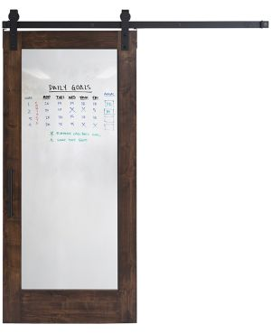 Whiteboard Barn Door