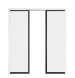 Suite Double Converging Pocket Doors