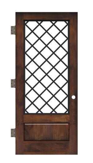 Cathedral Interior Slab Door