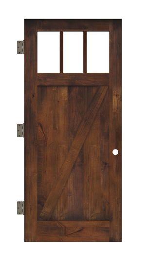 Clover Pass Interior Slab Door