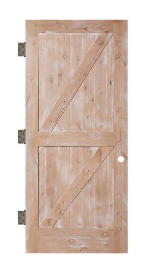 Dutch Z Interior Slab Door