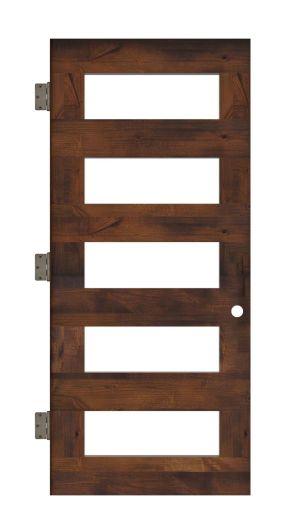 East Bench Interior Slab Door