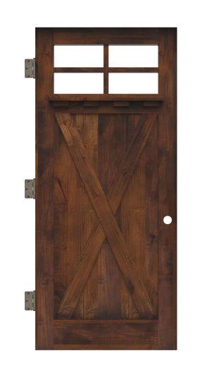 Hobble Creek Interior Slab Door