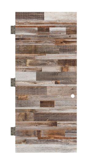 Horizontal Barn Wood Interior Slab Door