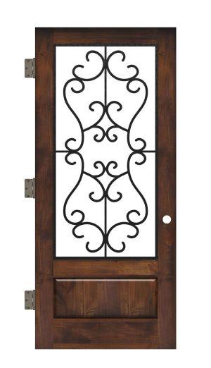 Manor Interior Slab Door