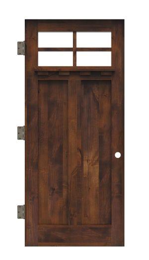 Left Fork Interior Slab Door