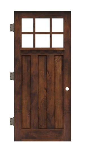 Rocky Point Interior Slab Door