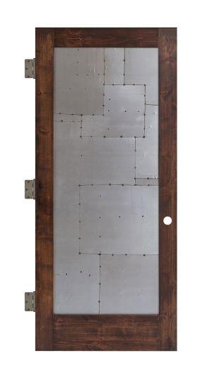 Steampunk Interior Slab Door