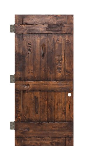 Ranch Interior Slab Door