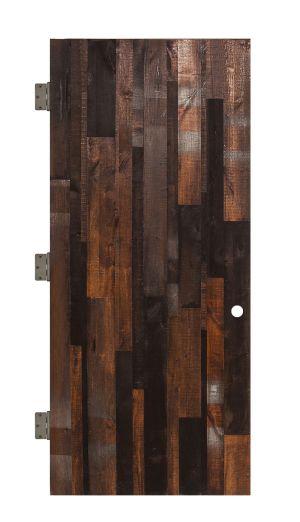 Vertical Rustica Reclaimed Interior Slab Door