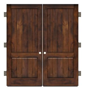 Altitude Exterior Double Slab Door