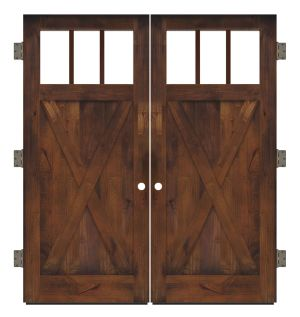 Bartholomew Exterior Double Slab Door