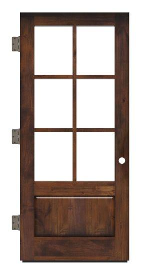 Boat House Exterior Slab Door