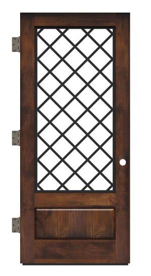 Cathedral Exterior Slab Door