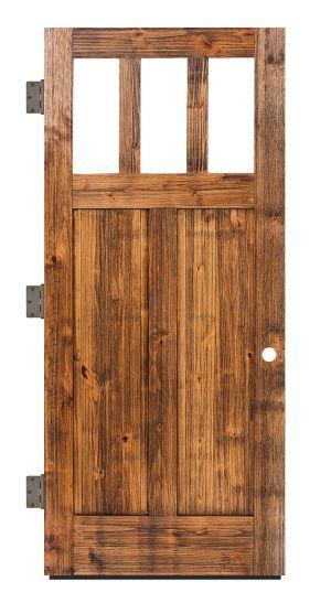 Craftsman Exterior Slab Door