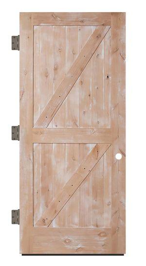 Dutch Z Exterior Slab Door