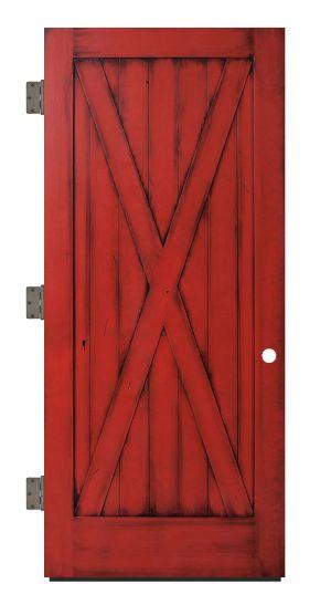 Full X Exterior Slab Door