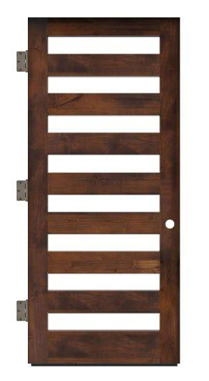 Highland Exterior Slab Door