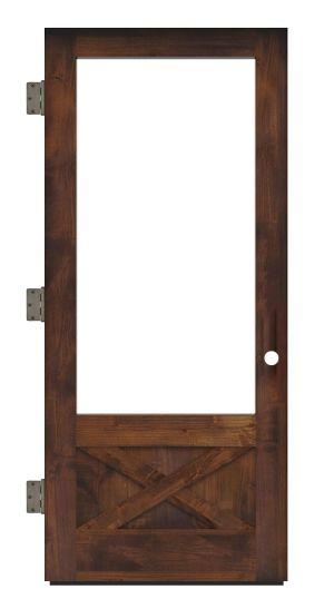 Hudson Exterior Slab Door