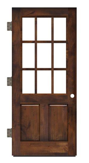 Lake House Exterior Slab Door