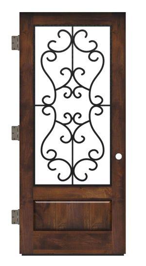 Manor Exterior Slab Door