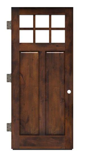 Maple Dale Exterior Slab Door