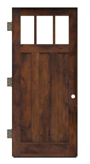 Overland Exterior Slab Door