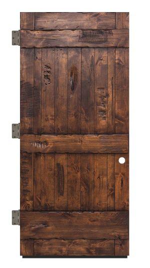 Ranch Exterior Slab Door