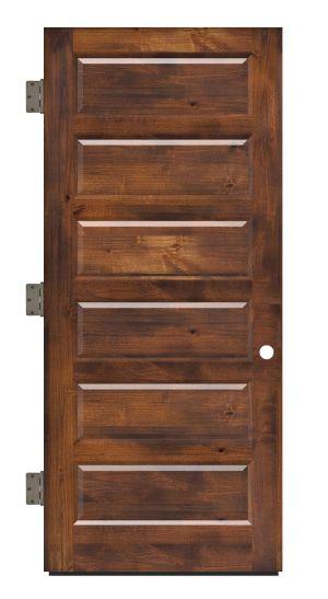 Pioneer Exterior Slab Door
