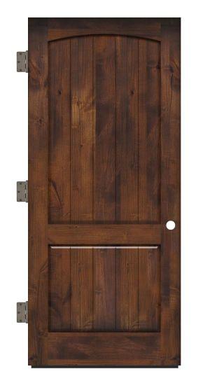 Pump House Exterior Slab Door