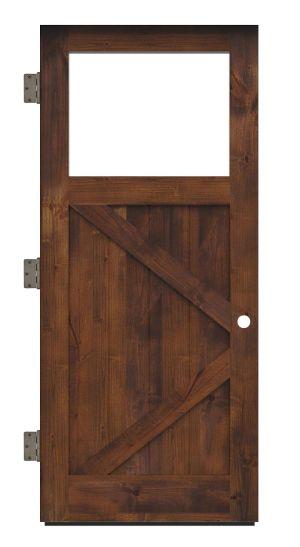 Shoemaker Exterior Slab Door