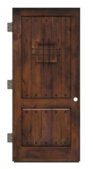 Stronghold Exterior Slab Door