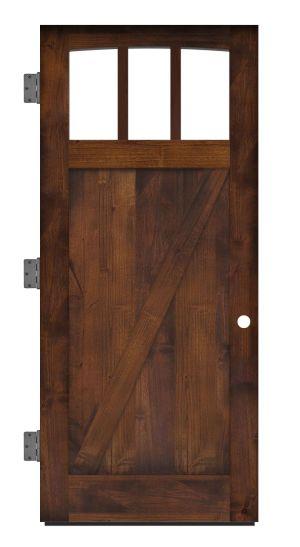 Rendezvous Exterior Slab Door
