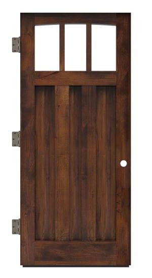 Woodsman Exterior Slab Door