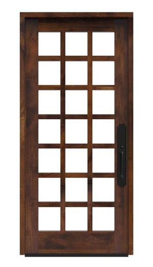 Alpine Wine Room Door