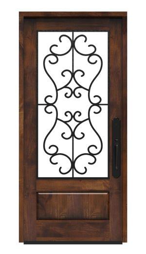 Manor Wine Room Door