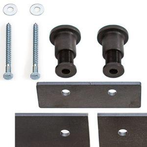 Splice Plate Barn Door Hardware Flat Track Joiner